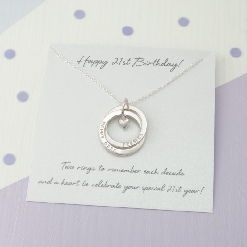 29403c29d5c Personalised 21st Birthday Gift For Her