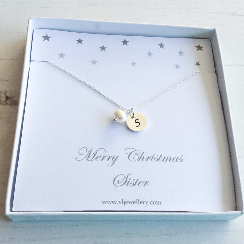 Sister necklace for christmas - Silver star neclace- Christmas gift ...
