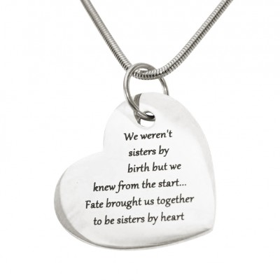Personalised Bottom of My Heart - All Birthstone™