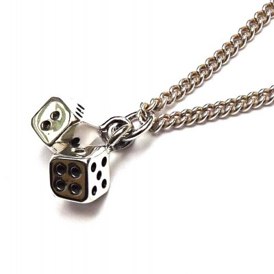 Lucky Dice Necklace - All Birthstone™